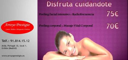 Promociones tratamientos estética