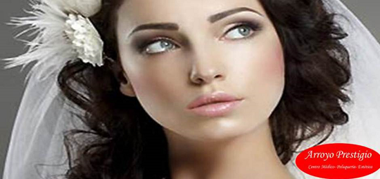 Maquillaje y peinado novias