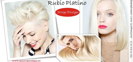 Rubio platino