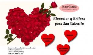 Regala bienestar y belleza para San Valentín
