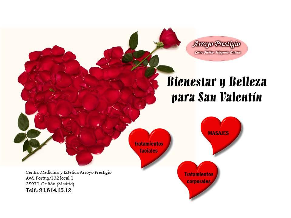 cheques regalo para San Valentín