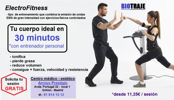 Eléctrofitness - Fit gym - Entrenar con Biotraje