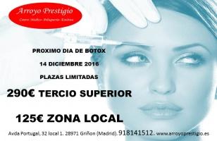 Oferta botox diciembre 2016