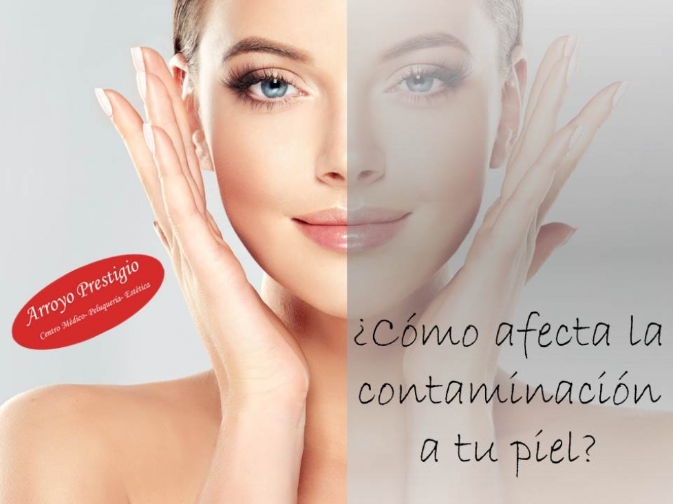 Contaminación en tu piel