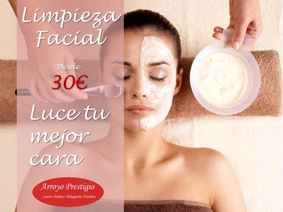 Limpieza facial navidad