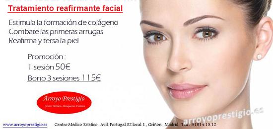 Oferta radiofrecuencia facial