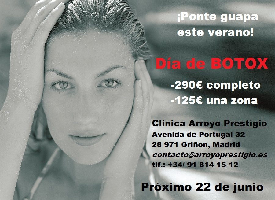 oferta botox junio 2016